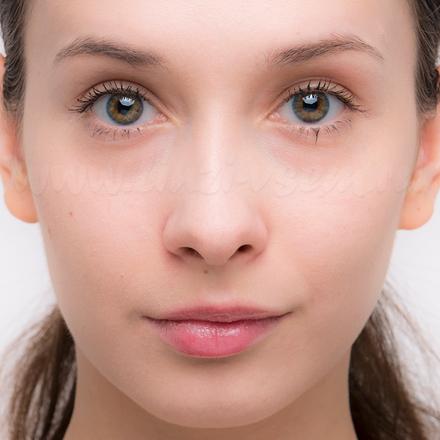 Исходный цвет глаз